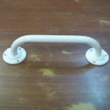 White Bathroom Grab Rail White 600mm x 25mm - 01047653